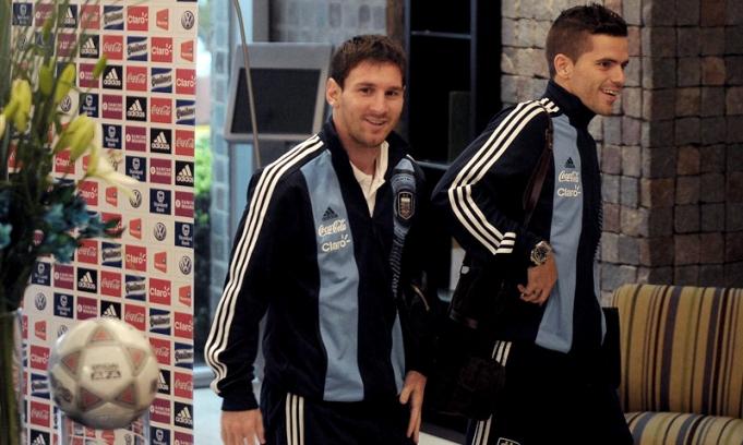 Messi llegó a Córdoba