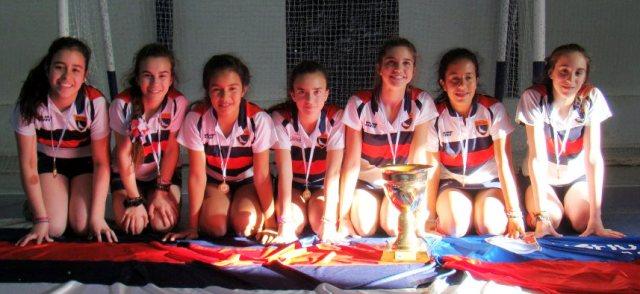 el equipo campeon de la 7ma damas URC
