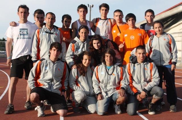 equipo de atletismo TDF