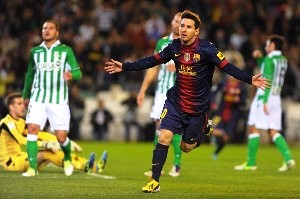 Messi es record en Europa