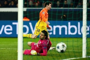 gol Messi Champ