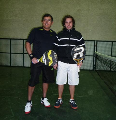 Gutierrez - Martínez (RGde) 1º Puesto 2da. Caballeros