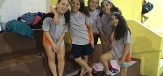 Las Chicas de Natación (Gentileza Leo Olmos)
