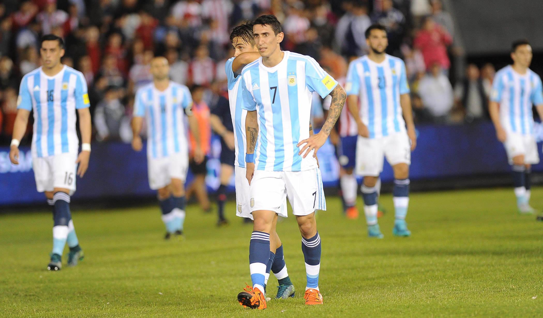 Argentina empató frente a Paraguay