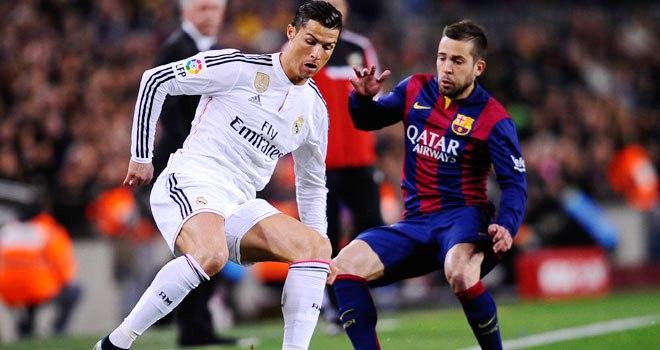 """El Barcelona """"jugó"""" con el Madrid"""
