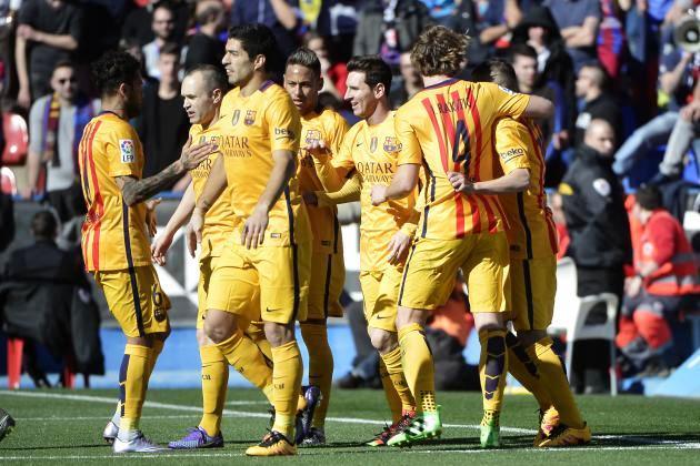 El Barcelona a su bola