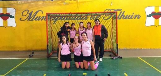 Panteras sub 14 campe+¦n 2015 de la Federaci+¦n de Hockey  TDF