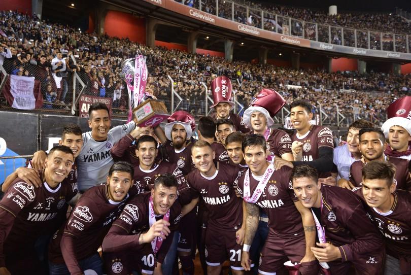 Lanús se quedó con el título de Primera División