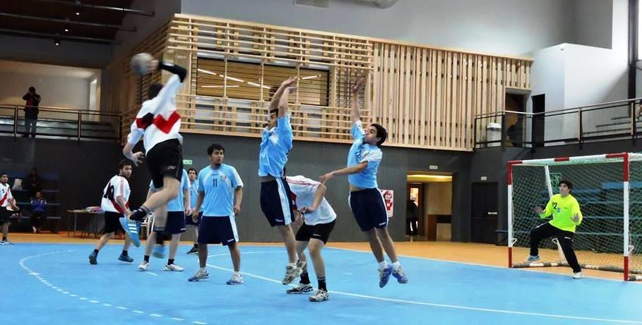 El handball copó el microestadio