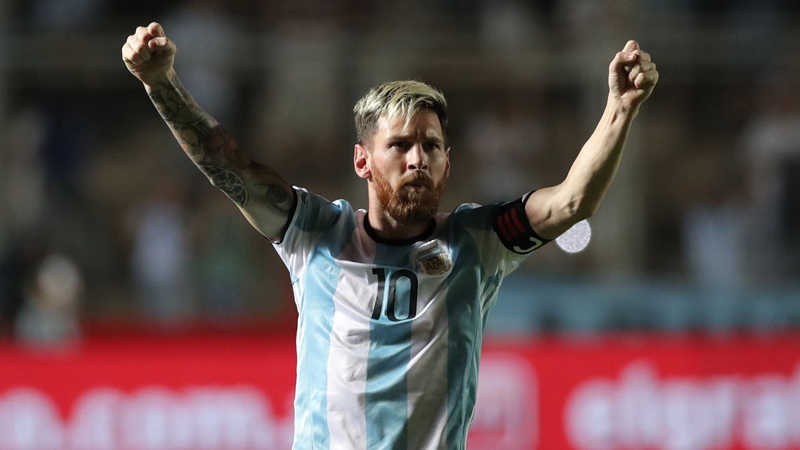 Con Messi figura, Argentina se recuperó ante Colombia