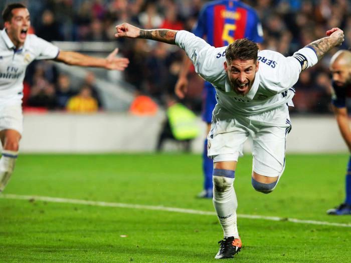 Jugando para el Madrid