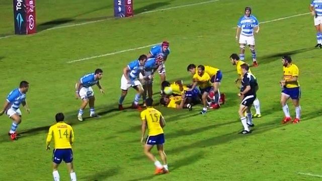 Se viene Argentina XV ante Brasil por el Américas Rugby Championship