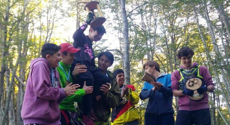 Campeones en el bosque