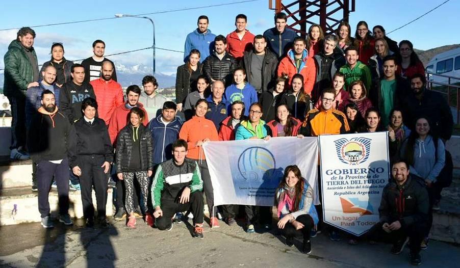 "El ""Choly"" Gómez en Ushuaia"