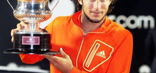 Juan Monaco With Trophy