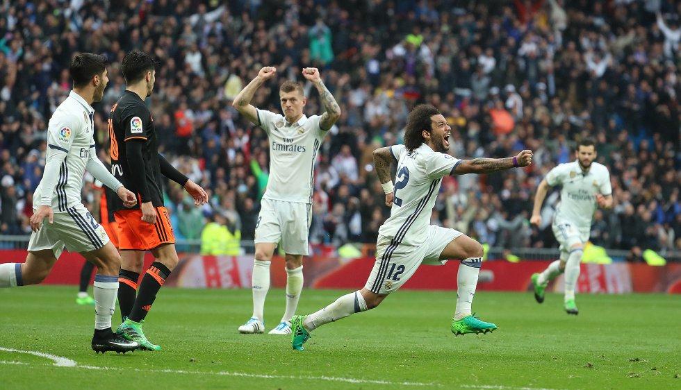 El Madrid y Barcelona al límite