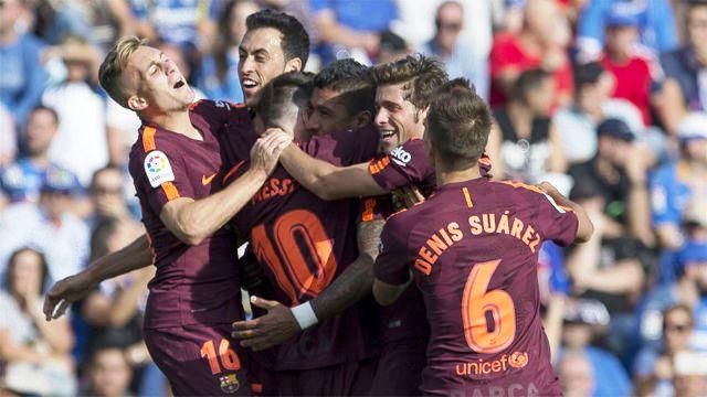 Barcelona y Sevilla en lo más alto
