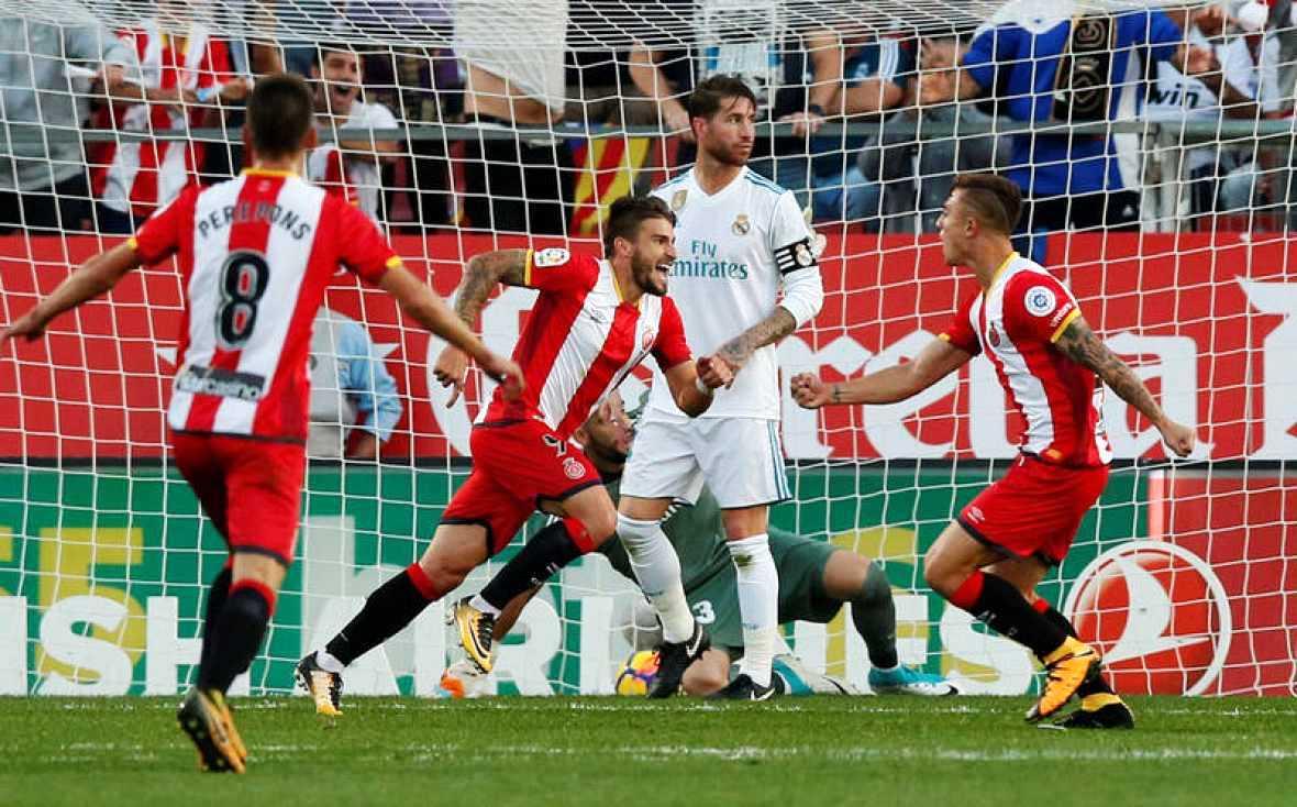 El Madrid desconecta de la Liga