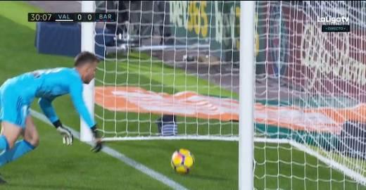 El Barcelona y su gol «fantasma»