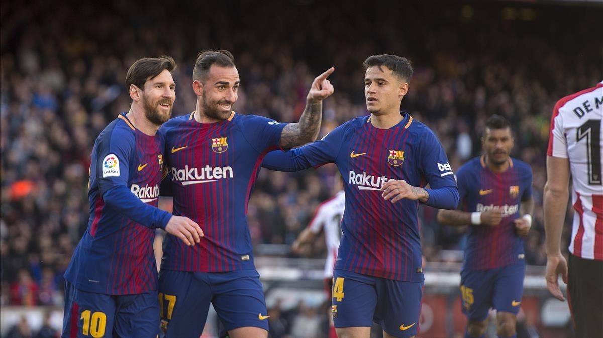 El Barcelona cada vez más cerca