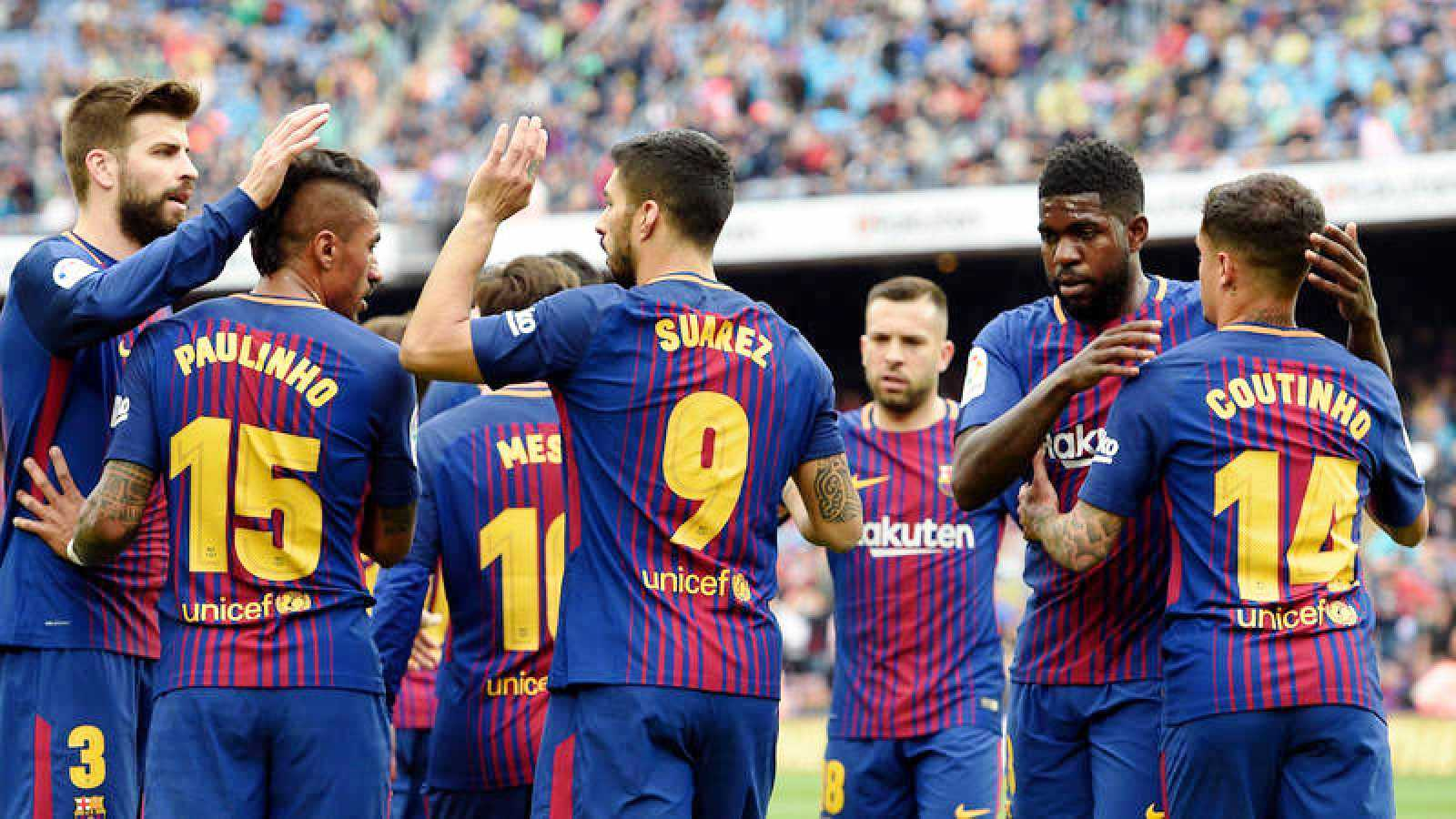 Barcelona enfila al campeonato
