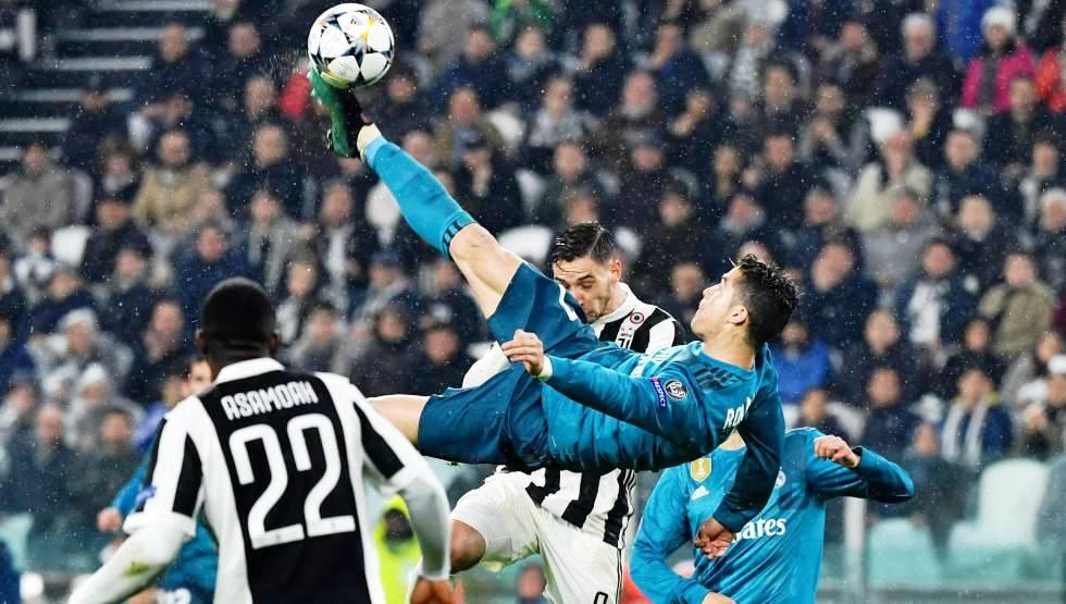 Cristiano tumba a la «Juve»