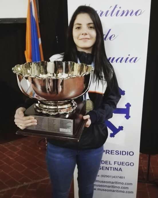 Florencia Fernández campeona argentina en el Fin del Mundo