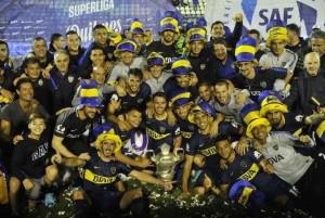 Gimnasia vs Boca Boca Campeon. 09.05.2018 Foto Maxi Failla