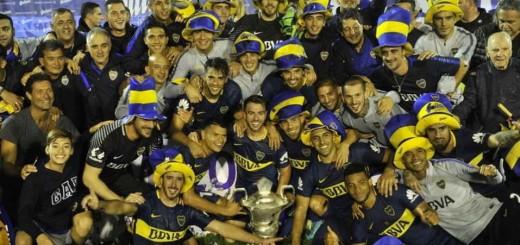 Gimnasia vs BocaBoca Campeon.09.05.2018Foto Maxi Failla
