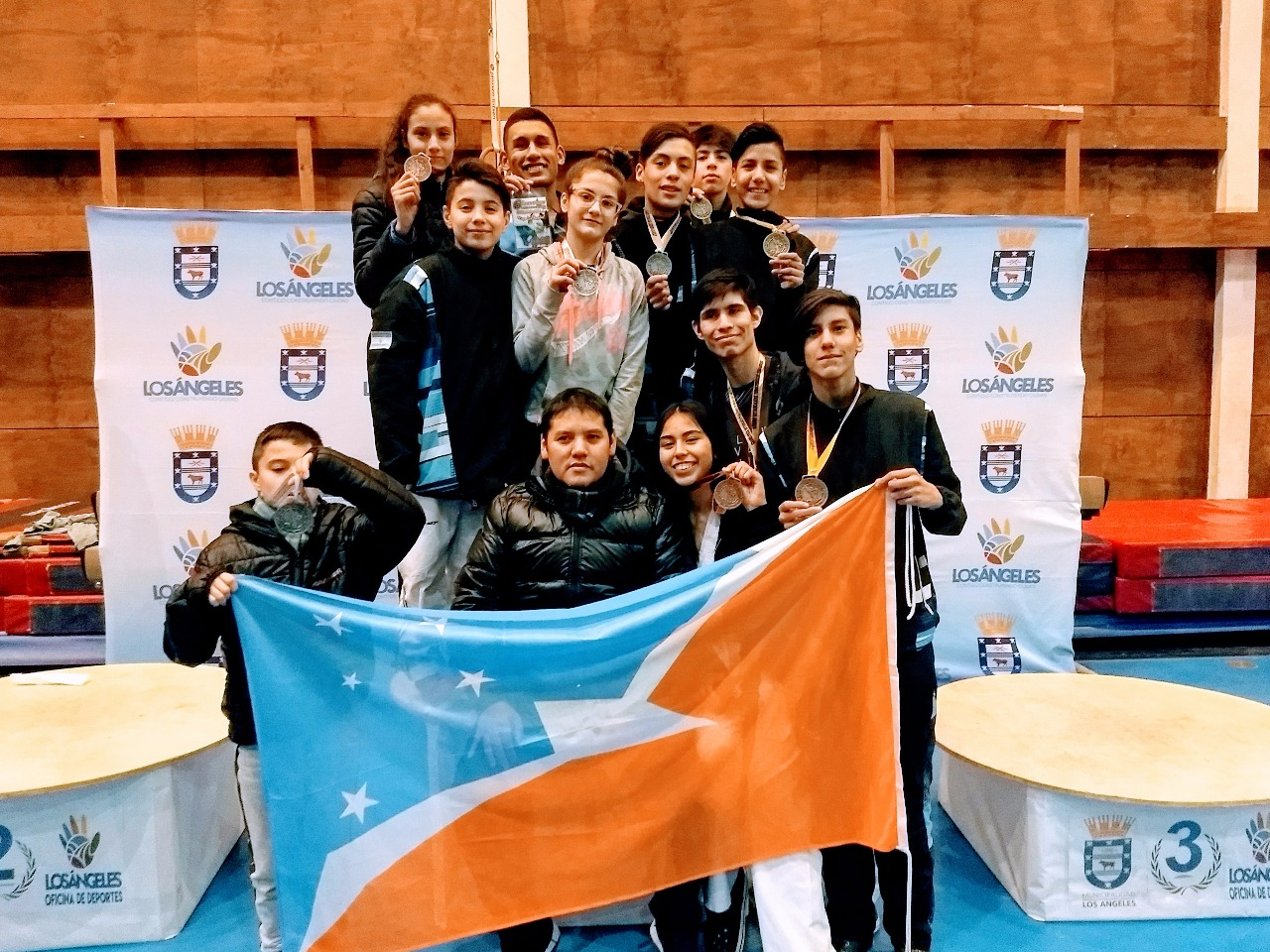 Nueve medallas para los fueguinos en Chile