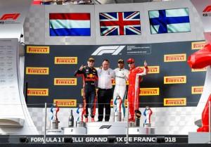 podio Gp Francia 2018