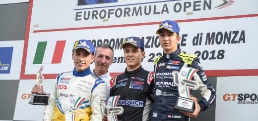 podio Monza