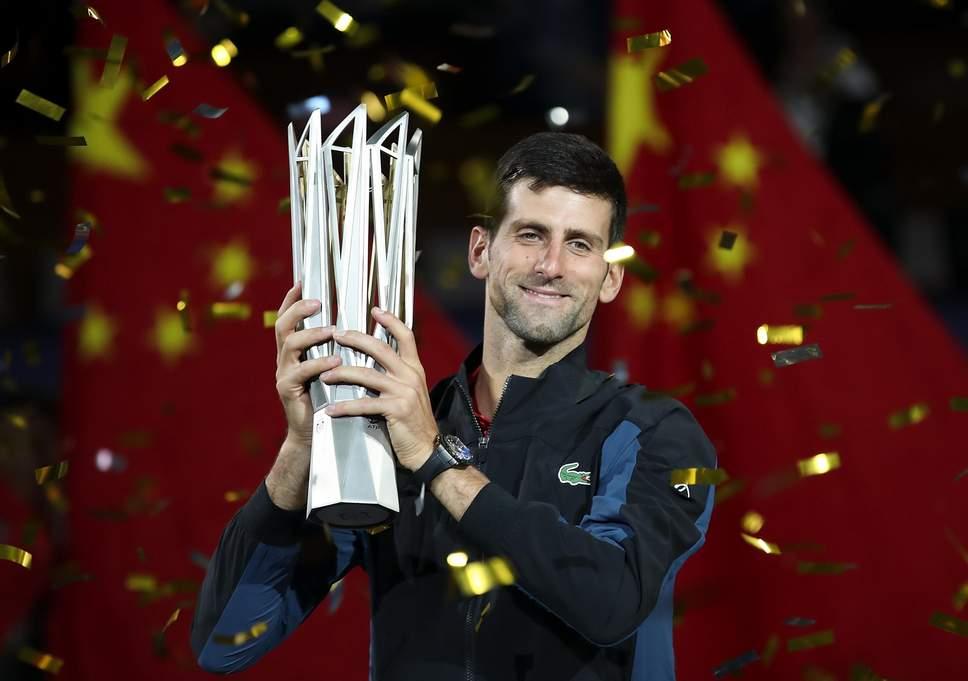 Djokovic campeón en Shanghái