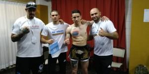 Campeón mundial de kickboxing