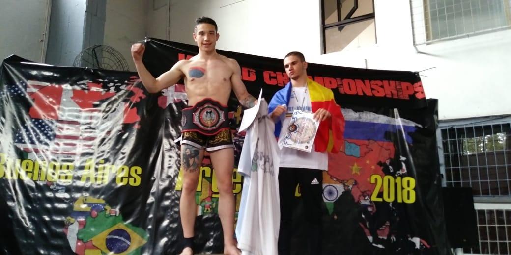 «Agus» Jara, de 3° en su categoría a Campeón Mundial