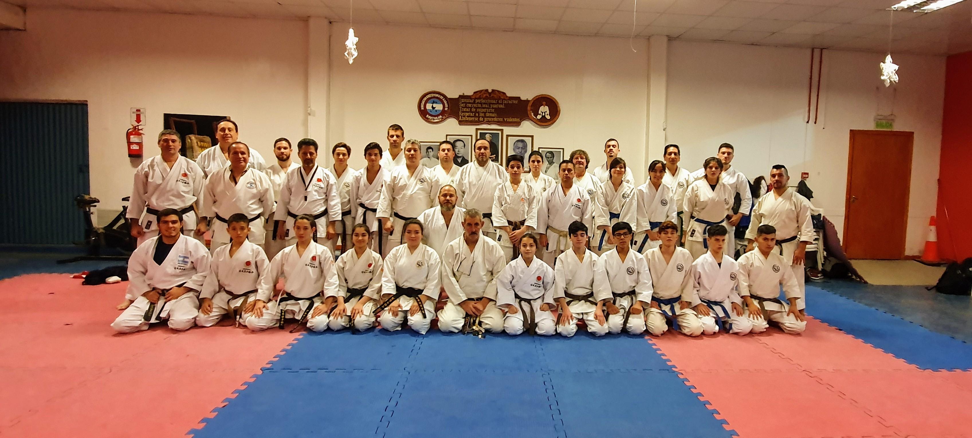 Curso de arbitraje para el Karate Do
