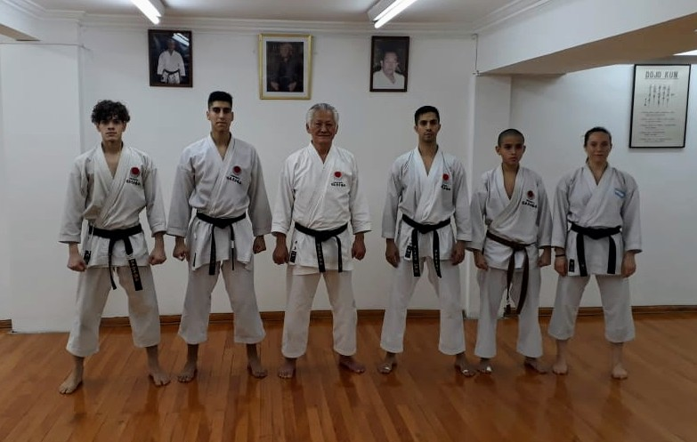 Fueguinos en el Panamericano de Karate JKA