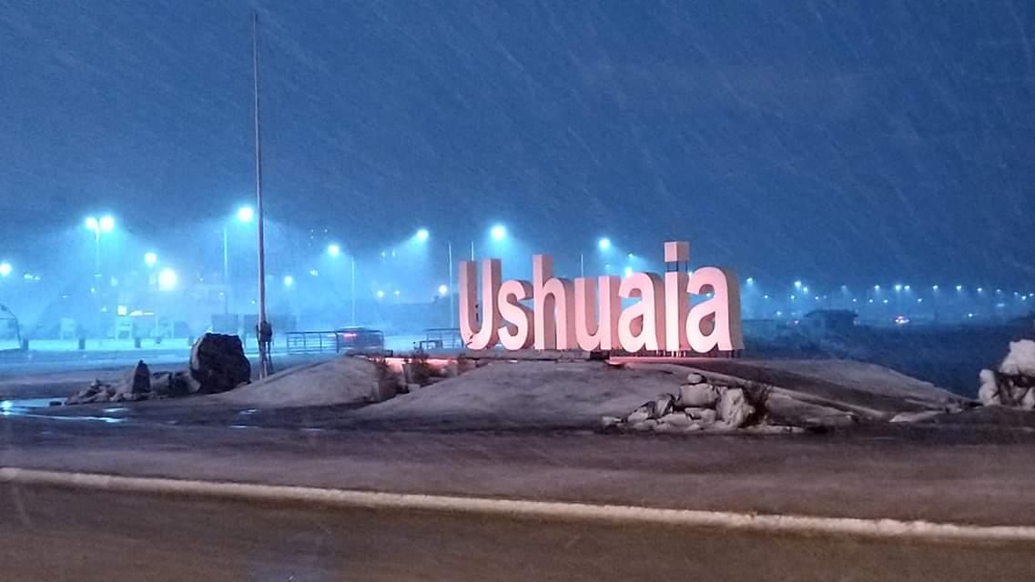 La nevada paró el rugby en Ushuaia