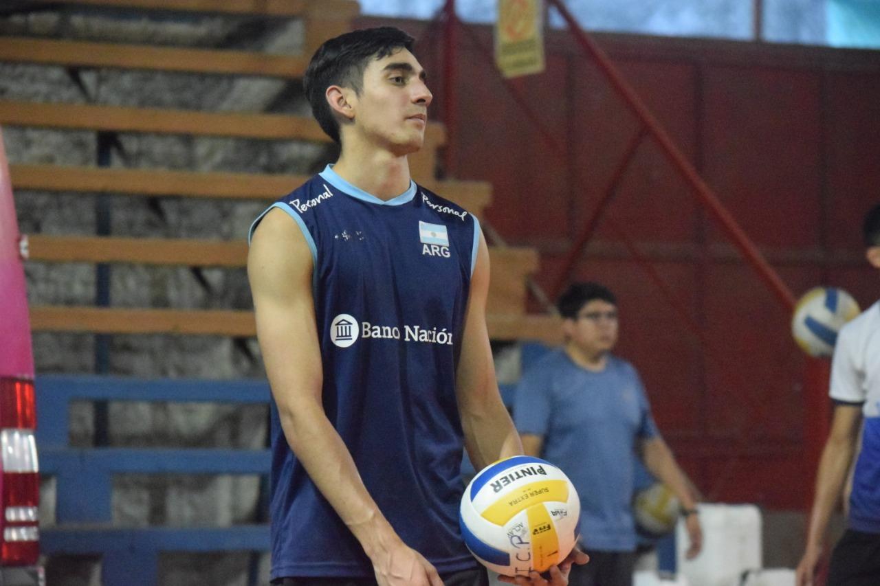 «Pancho» Ybars en el Torneo Argentino de Clubes