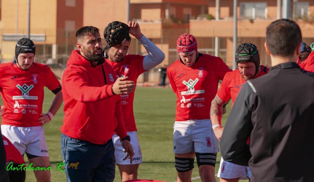 Franco aporta su experiencia en el Alcalá Rugby