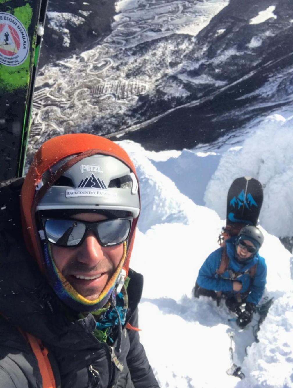 «El Monte Olivia nos hizo combinar esquí alpino, snowboard, escalada en hielo y roca, fue un sueño cumplido» (Audio)