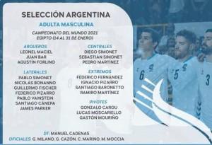 handball argentina mundial formación~2