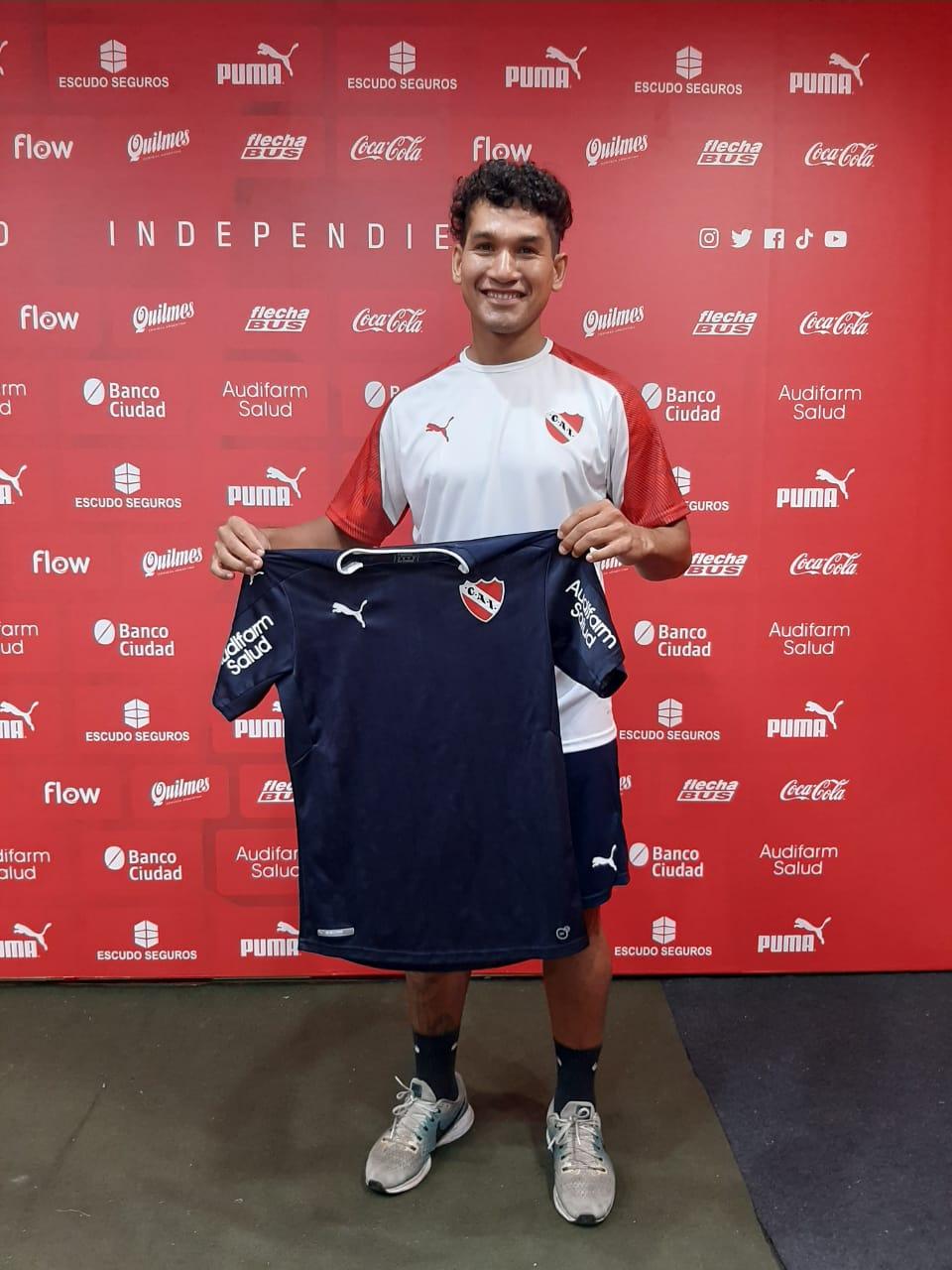 «Me gustó la propuesta deportiva, Independiente es un club grande, estoy con muchas ganas para encarar este nuevo desafío» (Audio)