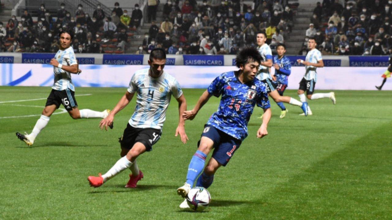 Japón goleó al Sub 23