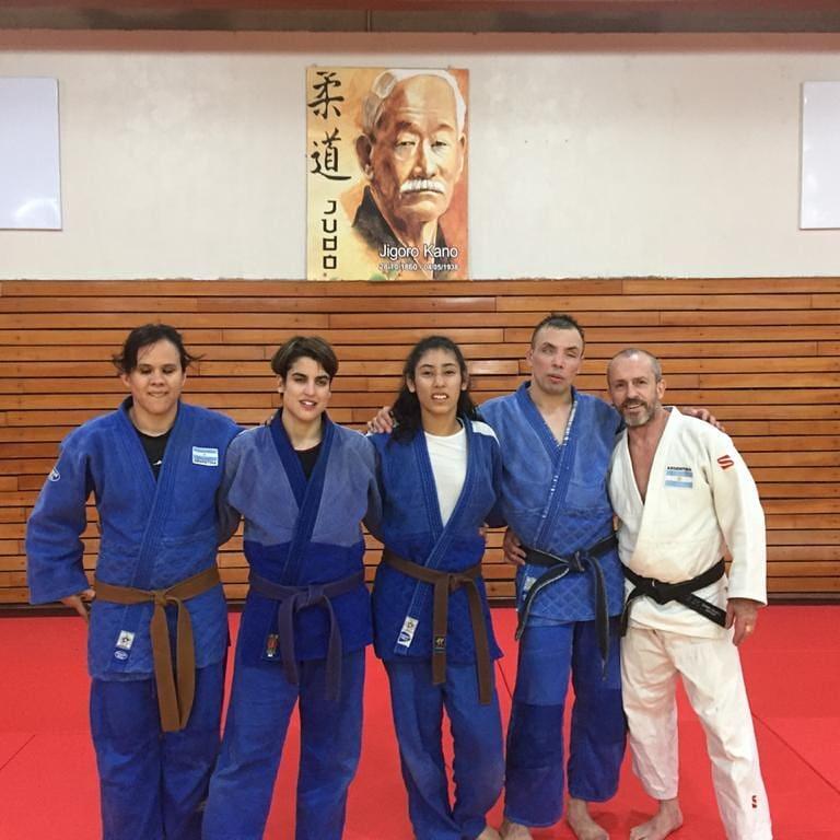 «Les mando un abrazo a todos los fueguinos,  en especial  a los judocas, familia y amigos» (Audio)