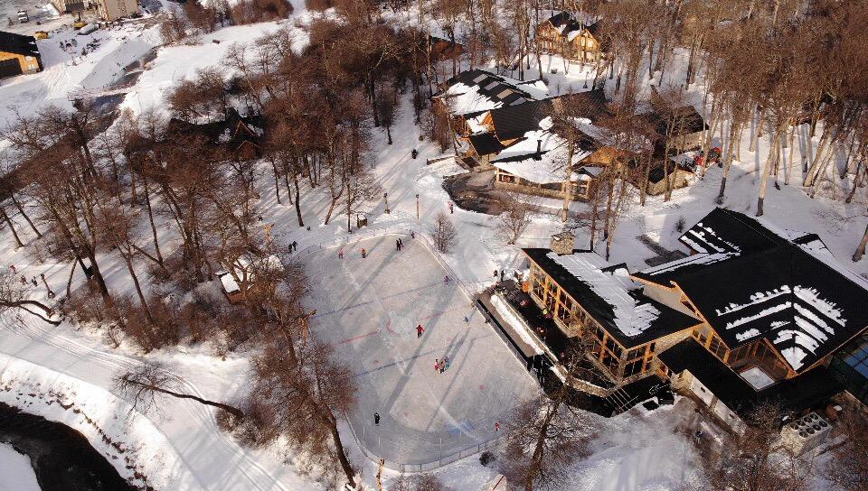 Morada, pista de patinaje y circuito de esquí de fondo a partir del sábado