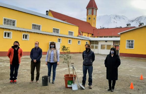 Scholas pasó por Ushuaia