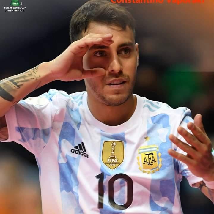 Argentina en Octavos con gol de «Kiki» incluido