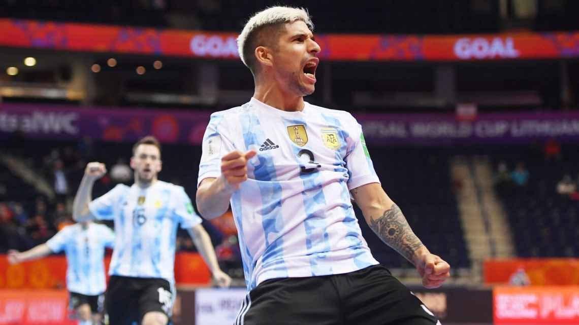 Argentina goleó a Paraguay, el domingo ante Rusia