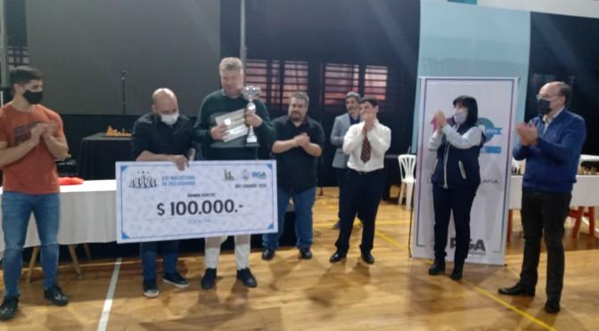 El GM Alexei Shirov ganó el Torneo Abierto Magistral 100° Aniversario de Río Grande